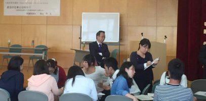 奈良の高校生らと一緒に政治・主権者教育を議論