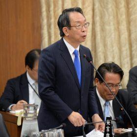2016.11.16 国交委員会質疑(連続台風被害)