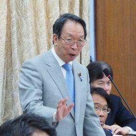 2017.4.19 国土交通委員会(水防法等改正について)