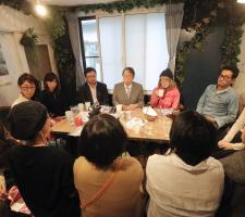 選挙直前・荒井カフェ